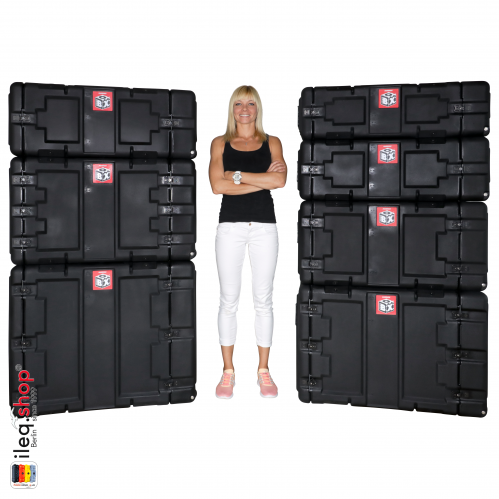 Peli-Hardigg Rack Mount Cases BlackBox