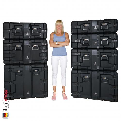 Peli-Hardigg Rack Mount Cases Super V-Series