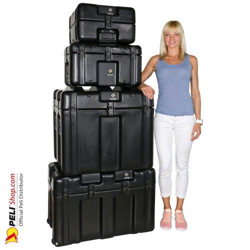 Peli-Hardigg Ruggedized Shipping Cases Large