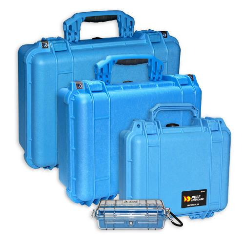 Peli Cases Color Blue