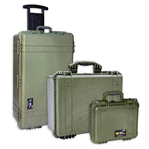 Peli Cases Color OD Green