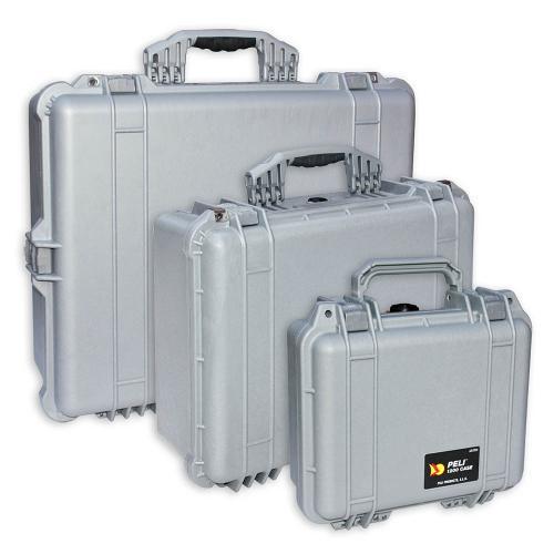 Peli Cases Color Silver