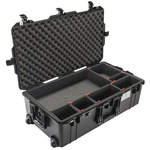 1615 AIR Check-In Case With TrekPak Divider, Black