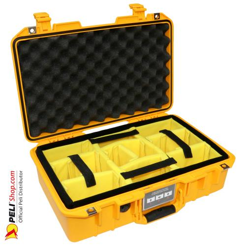 1485 AIR Case With Divider, Yellow