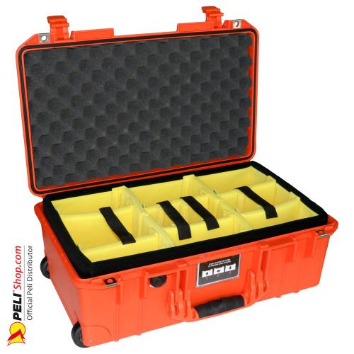 1535 AIR Carry-On Case With Divider, Orange