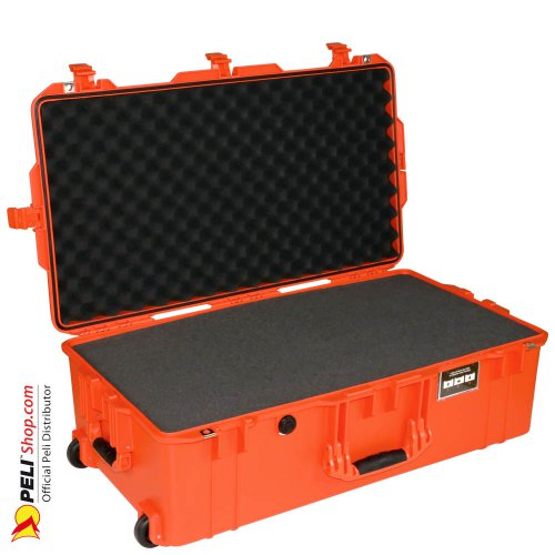 1615 AIR Check-In Case, PNP Latches, With Foam, Orange