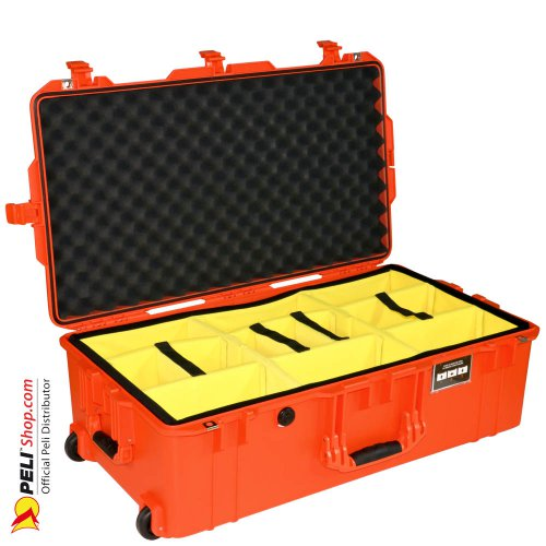1615 AIR Check-In Case With Divider, Orange