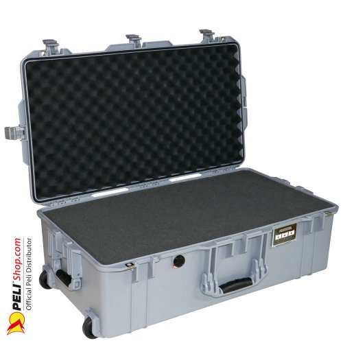 1615 AIR Check-In Case With Foam, Silver
