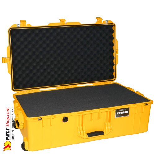 1615 AIR Check-In Case, PNP Latches, With Foam, Yellow