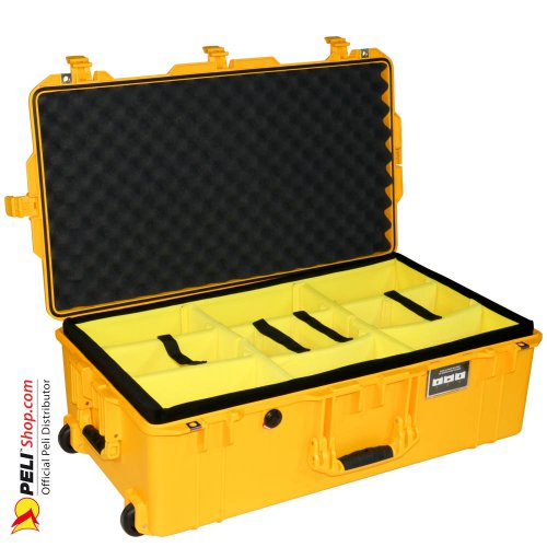 1615 AIR Check-In Case With Divider, Yellow