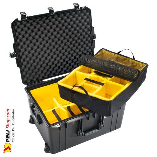 1637 AIR Case With Divider, Black