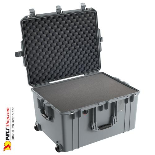 1637 AIR Case With Foam, Silver