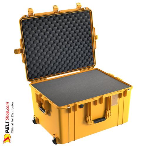 1637 AIR Case With Foam, Yellow