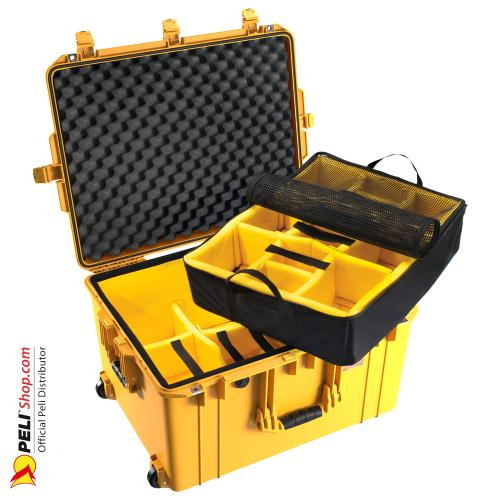 1637 AIR Case With Divider, Yellow