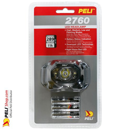 2760 LED Headlamp 3. Gen., Black