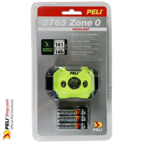 2765Z0 LED Headlight ATEX 2015, Zone 0, Yellow