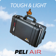 New and in stock - Peli AIR Cases!