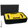 1485 AIR Case, PNP Latches, With Divider, Yellow 3
