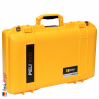1485 AIR Case, PNP Latches, With Divider, Yellow 2