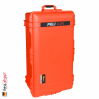 1615 AIR Check-In Case, PNP Latches, With Divider, Orange 3