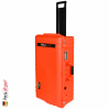 1615 AIR Check-In Case, PNP Latches, With Divider, Orange 4