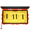 1615 AIR Check-In Case, PNP Latches, With Divider, Orange 6