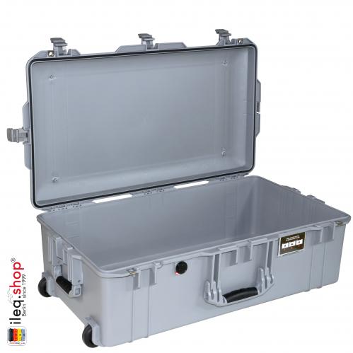 1615 AIR Check-In Case No Foam, Silver