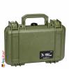 1170 Case W/Foam, OD Green 2