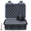 iM2100 Peli Storm Case Black, W/Cubed Foam